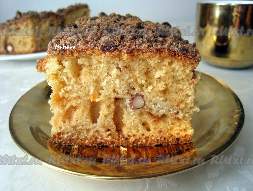 Рецепт пирога или кексов на йогурте