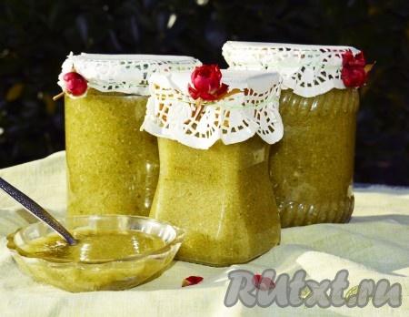 Вкусная, ароматная, витаминная заготовка из фейхоа с сахаром готова, рецепт очень простой и несложный!