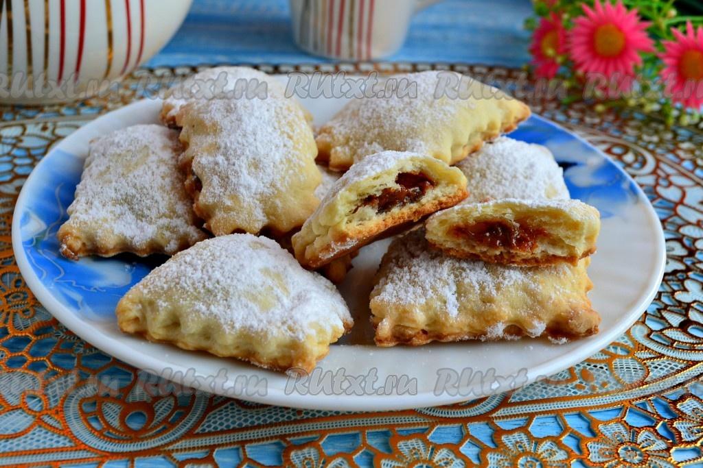 Домашнее печенье на кефире и маргарине простой 6