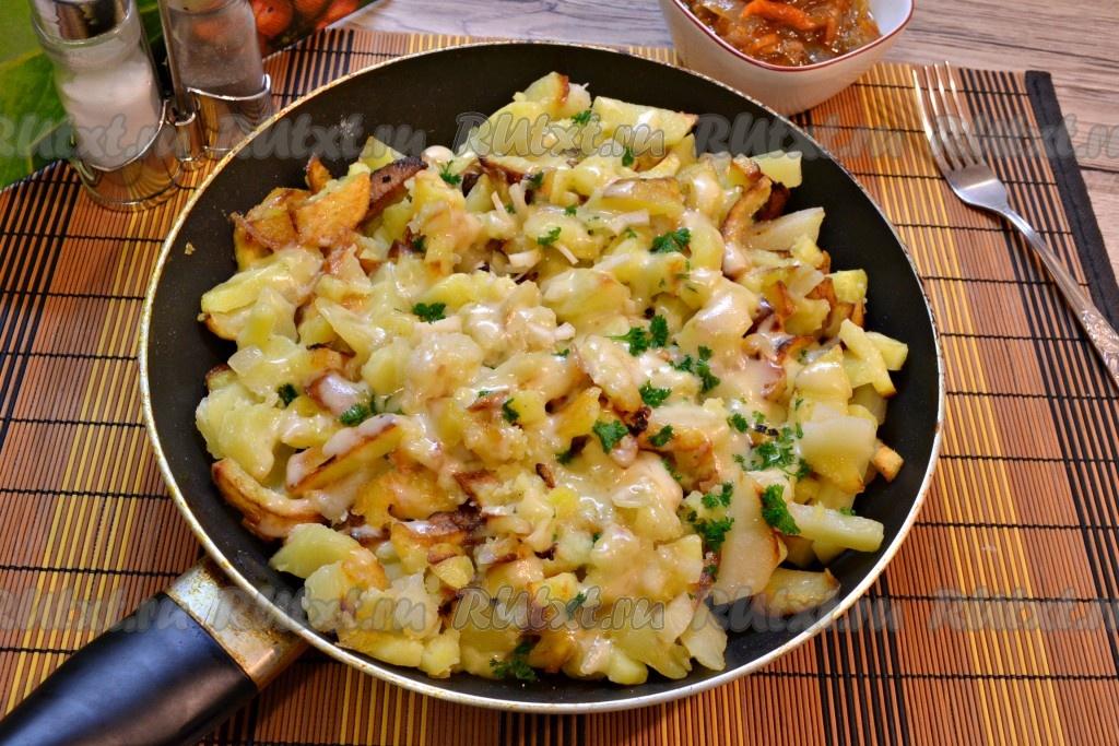 с чем можно поесть жареную картошку