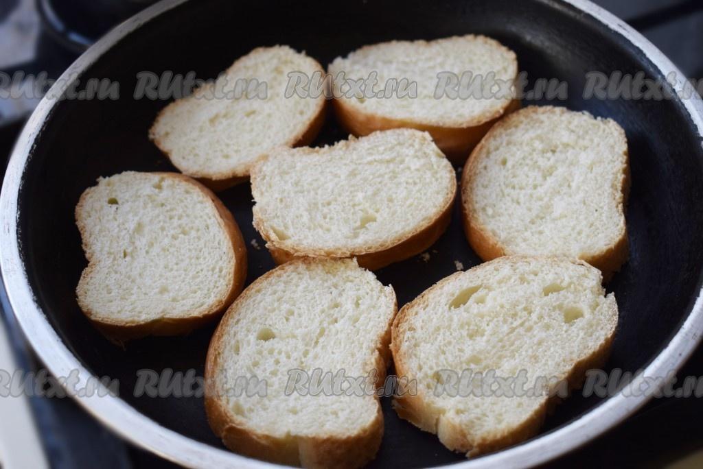 Как сделать хрустящие тосты
