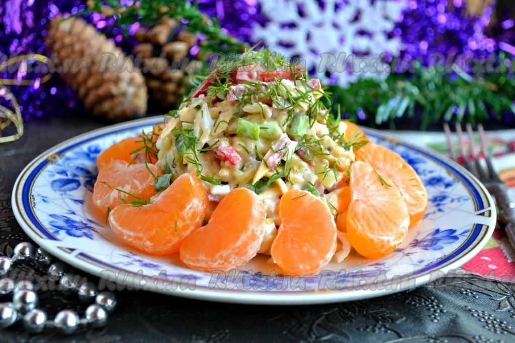 салат новогодняя сказка рецепт