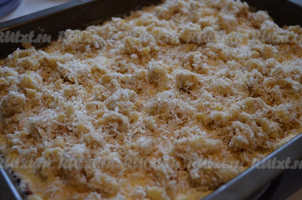 Творожного пирога с крошкой рецепт с