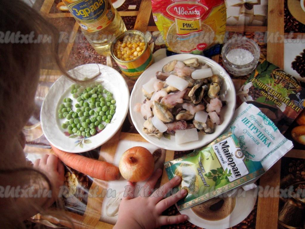 ассорти морепродукты рецепты приготовления