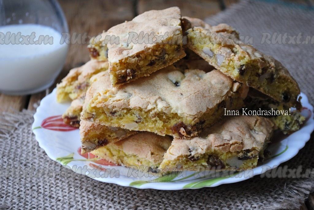 Как сделать мягкое тесто для печенья с орехами — 10