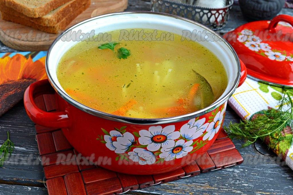 как приготовить вкусный суп из вермишели