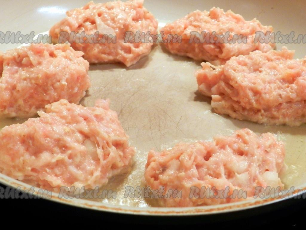 Котлеты из куриного филе с овсяными хлопьями рецепт