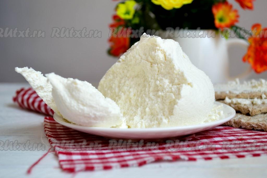 Как сварить сыр из сыворотки в домашних условиях #6