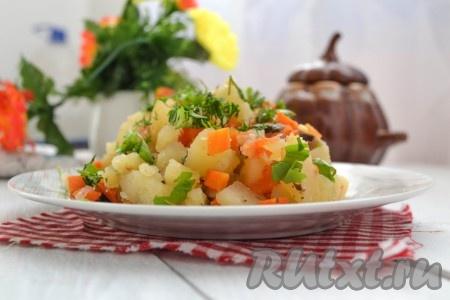 Приготовить рассыпчатую, аппетитную картошку в горшочках в микроволновке по этому рецепту совсем несложно, попробуйте!