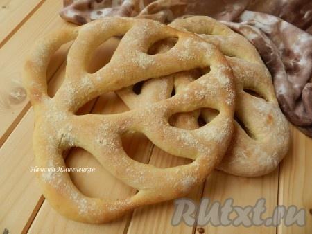 Французский хлеб Фугасс (Fougasse)