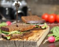 Бутерброды со свежим огурцом и кукурузой - рецепт пошаговый с фото