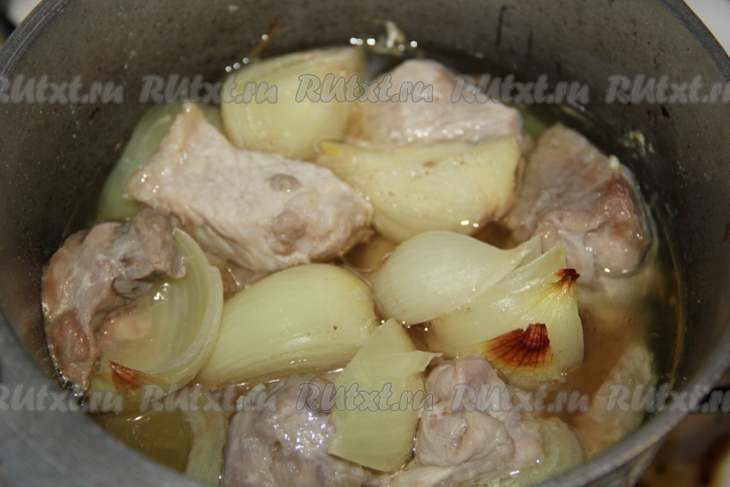 мясо в духовке в сливках в духовке рецепт