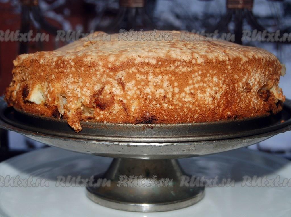 очень вкусная сочная шарлотка с яблоками рецепт с фото