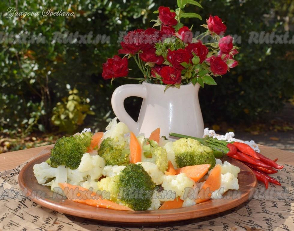 как мариновать капусту брокколи на зиму