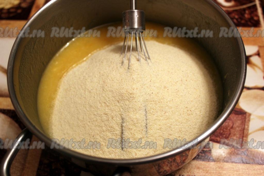 Манник в силиконовой форме рецепт с фото