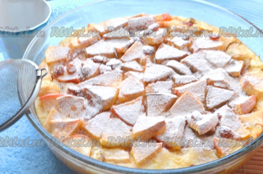 десерт из яблок рецепты с фото