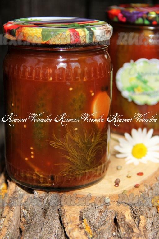 Огурцы в краснодарском соусе на зиму обалденный рецепт