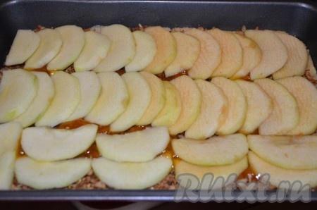 Далее распределить яблоки.