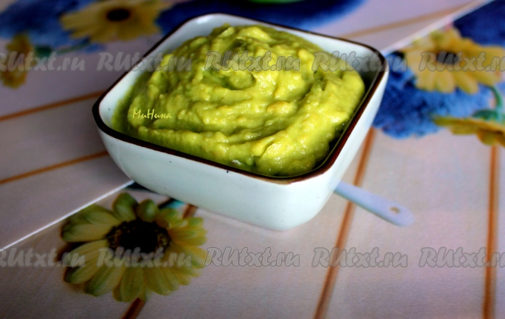 Соус к рыбе с авокадо рецепт