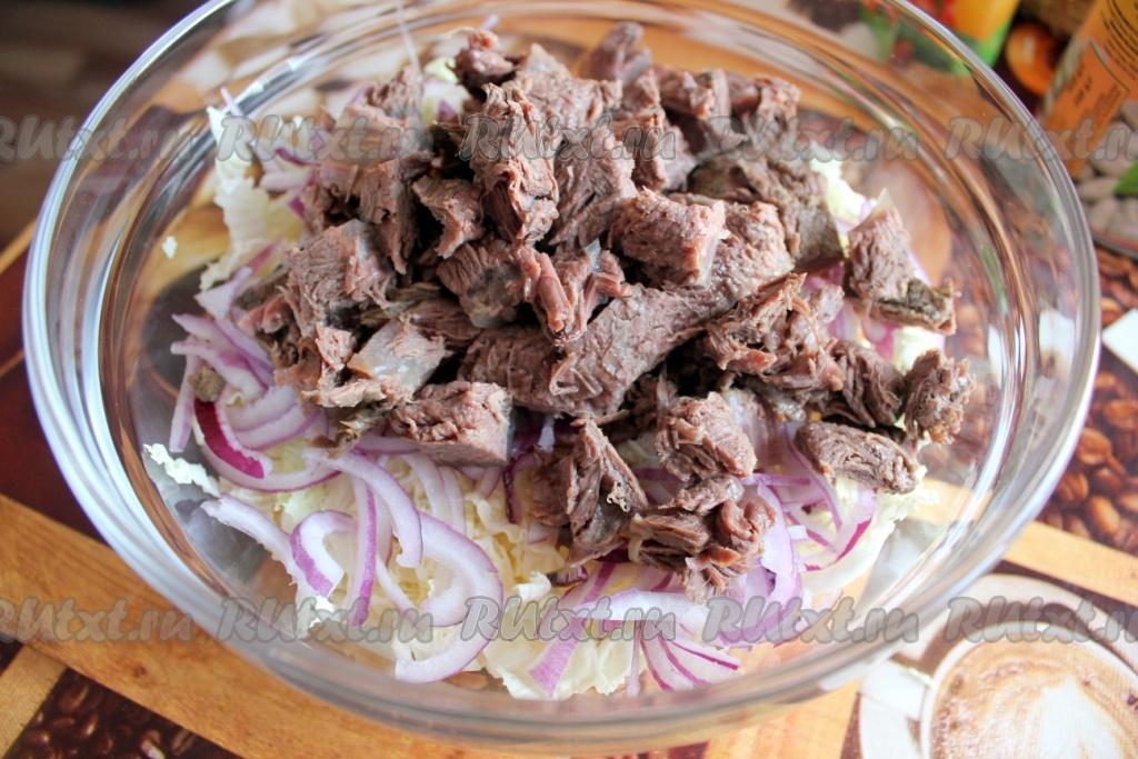 Мясо с фасолью консервированной рецепт с фото