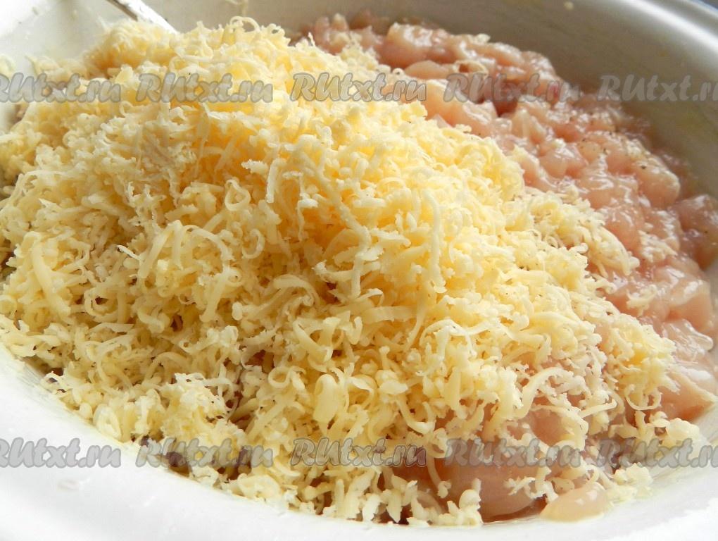 рецепт рубленных котлет из куриного филе и сыра
