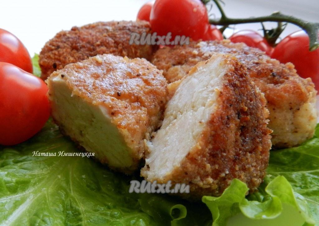 рецепт рубленных котлет из куриного филе с картошкой
