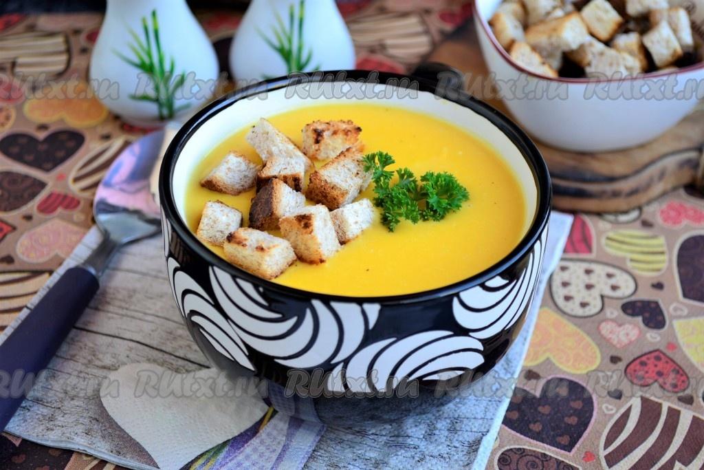 Сырный суп-пюре с плавленым сыром - пошаговый рецепт с ...