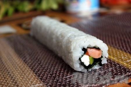 Роллов рисом наружу в домашних условиях 974