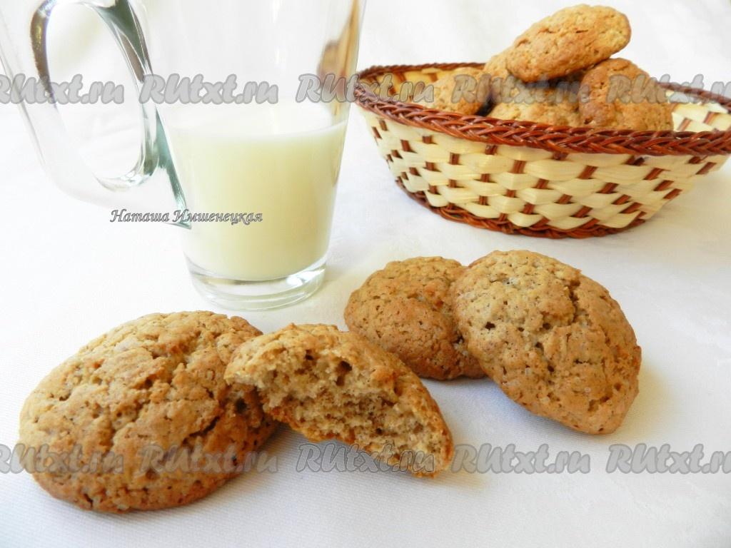 Рецепт приготовления овсяного печенья в домашних условиях