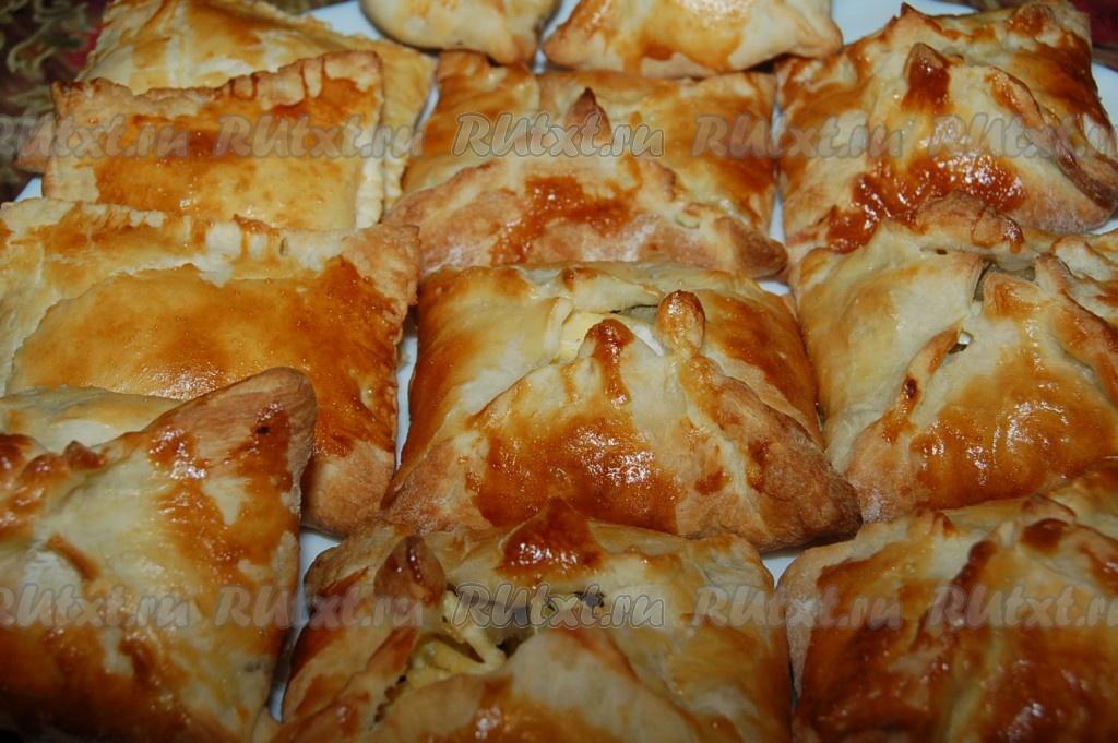 Пирожки из готового дрожжевого теста рецепты