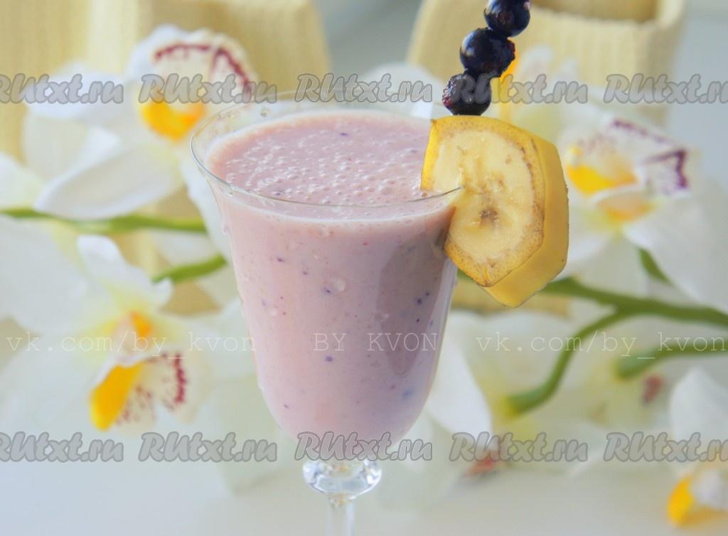 рецепт коктейля из кефира и ягод