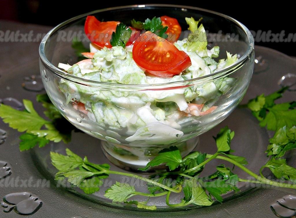 салат из рыбы и моркови