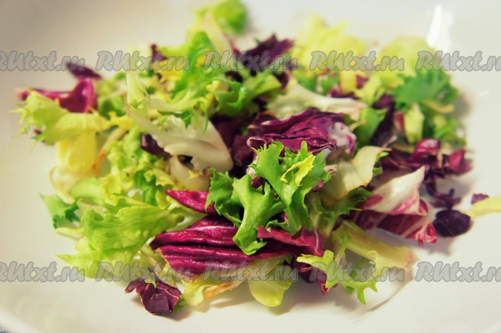 рецепт салата с сырными шариками рецепт