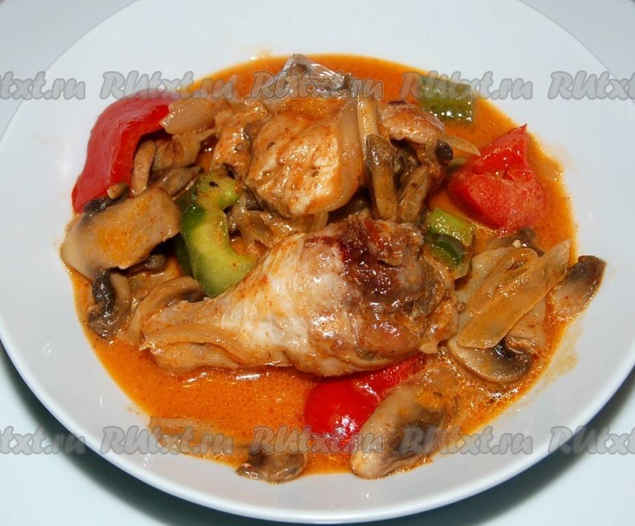 гарнир для курицы рецепт с фото