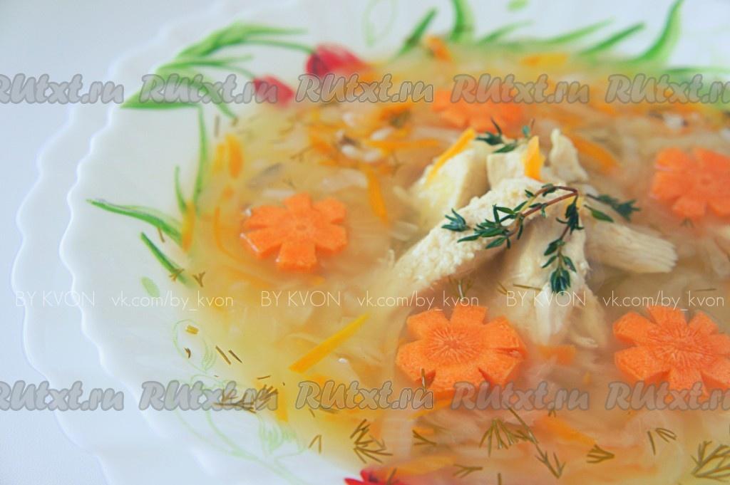 суп из квашеной капусты с курицей рецепт с фото