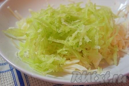 рецепт салат с редькой зеленой и морковью и