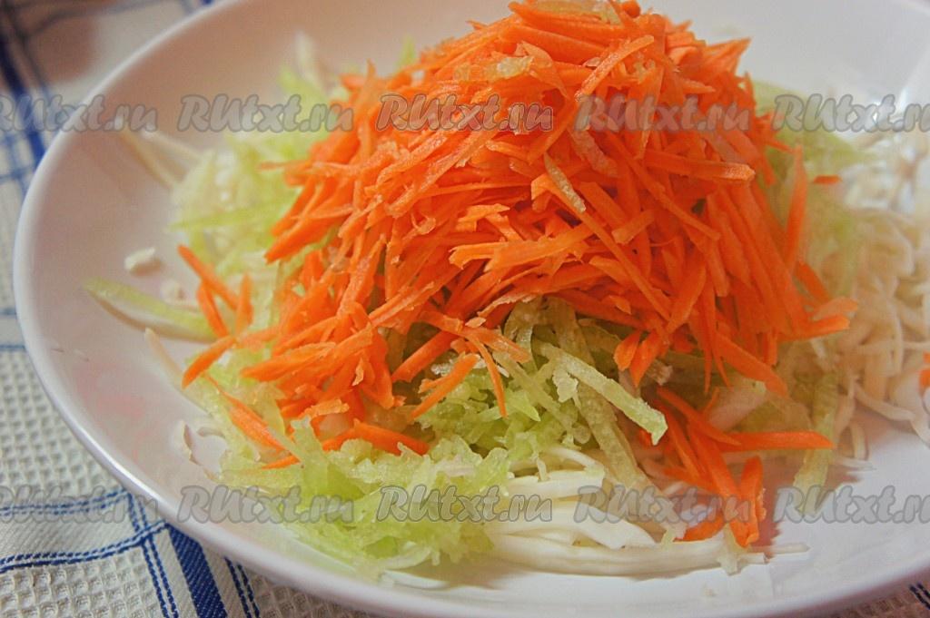 Рецепт салата с зеленой редькой 119