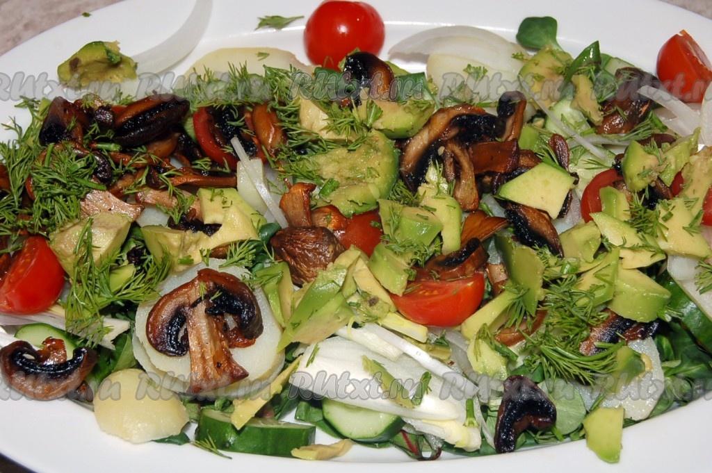 Нежирные салаты рецепты с фото