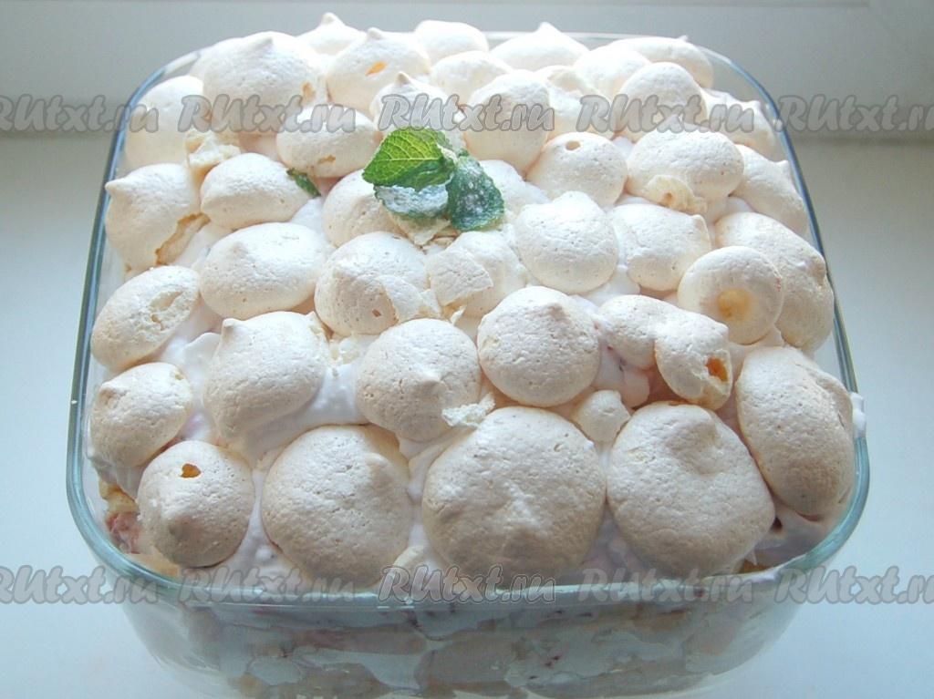 простые рецепты тортов с безе