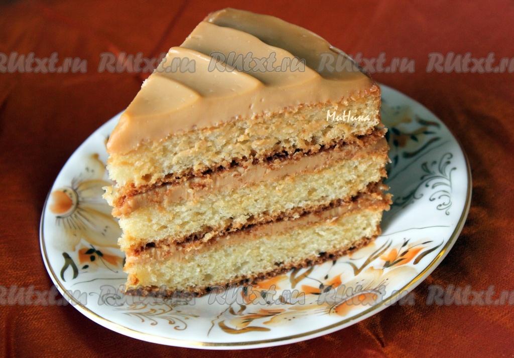 Простой рецепт торт своими руками на день рождения
