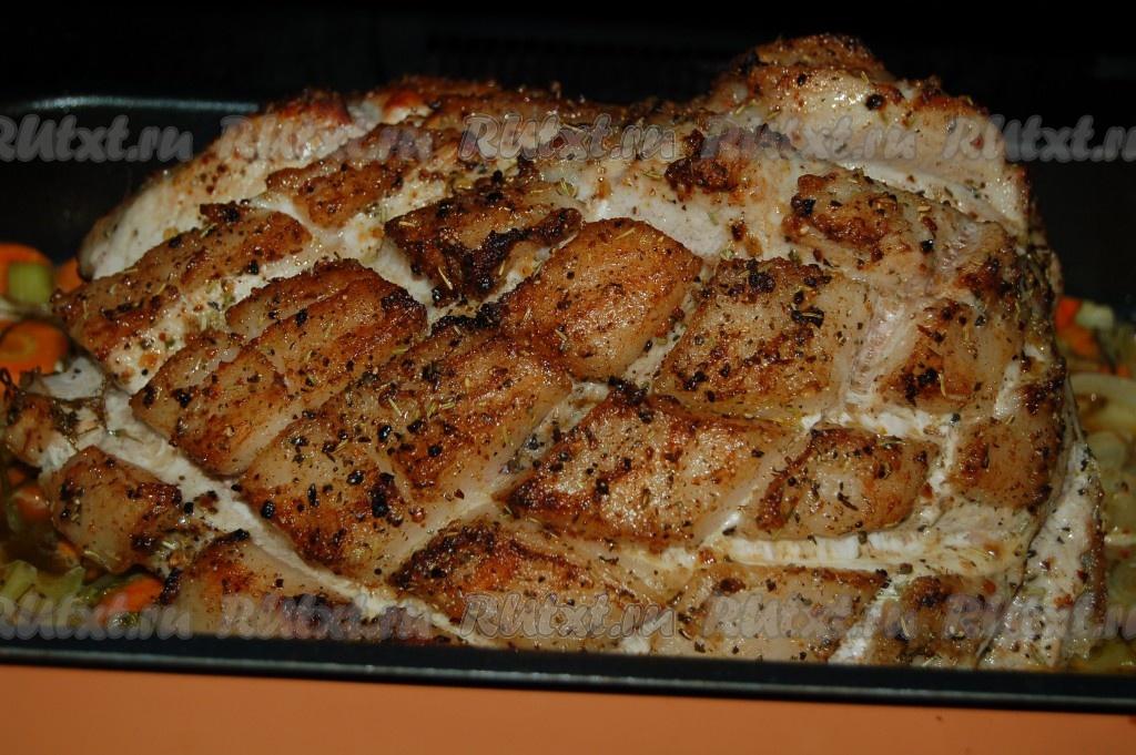 рецепт вкусной буженины в духовке с фото