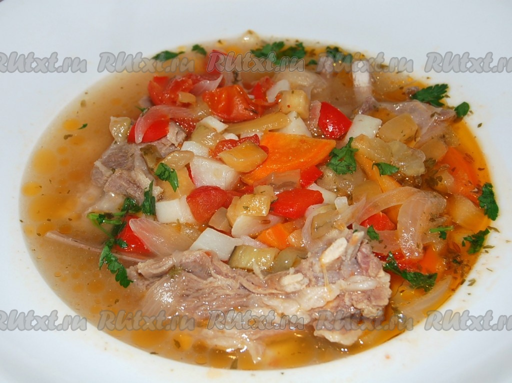 виды супов рецепты с мясом и картошкой