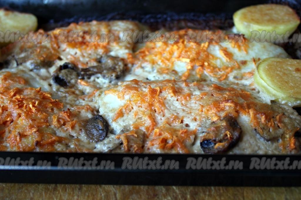 Филе рыбы в духовке