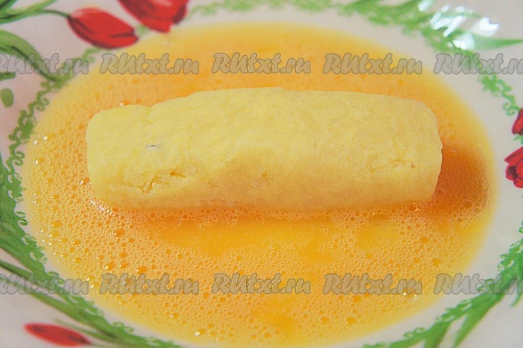 Как сделать картофельные палочки с сыром