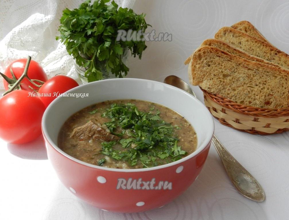 Харчо рецепт пошаговый рецепт из говядины с картофелем