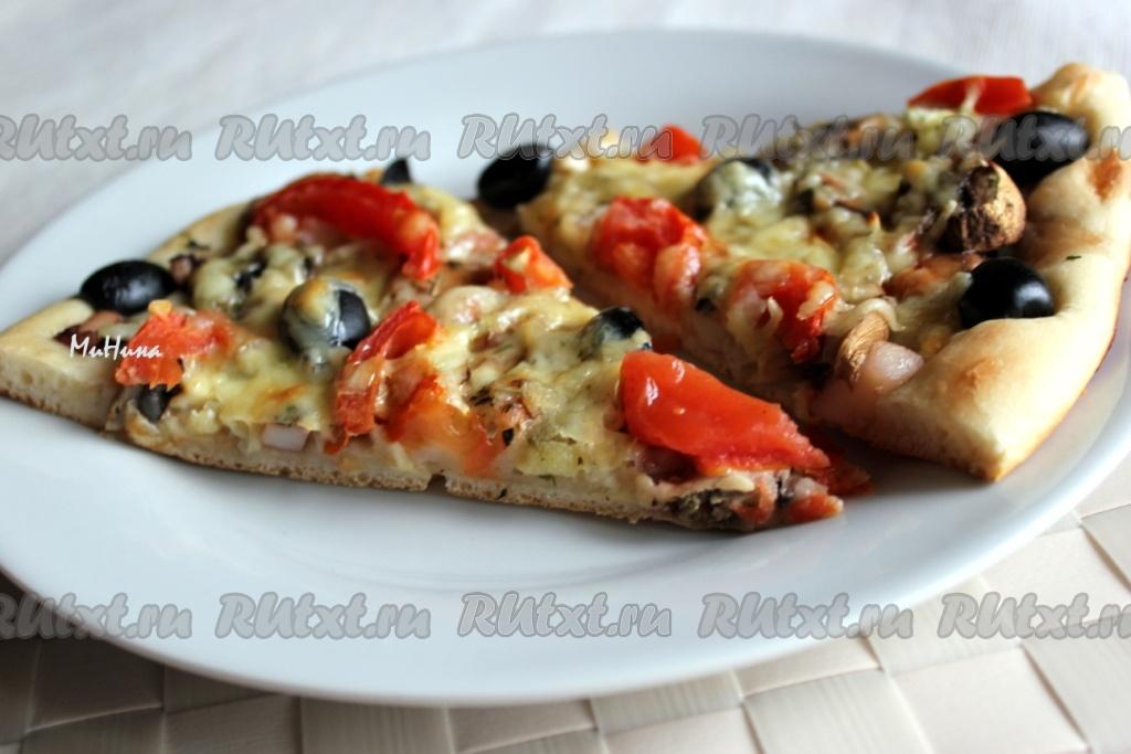 пицца рецепты с морепродуктами