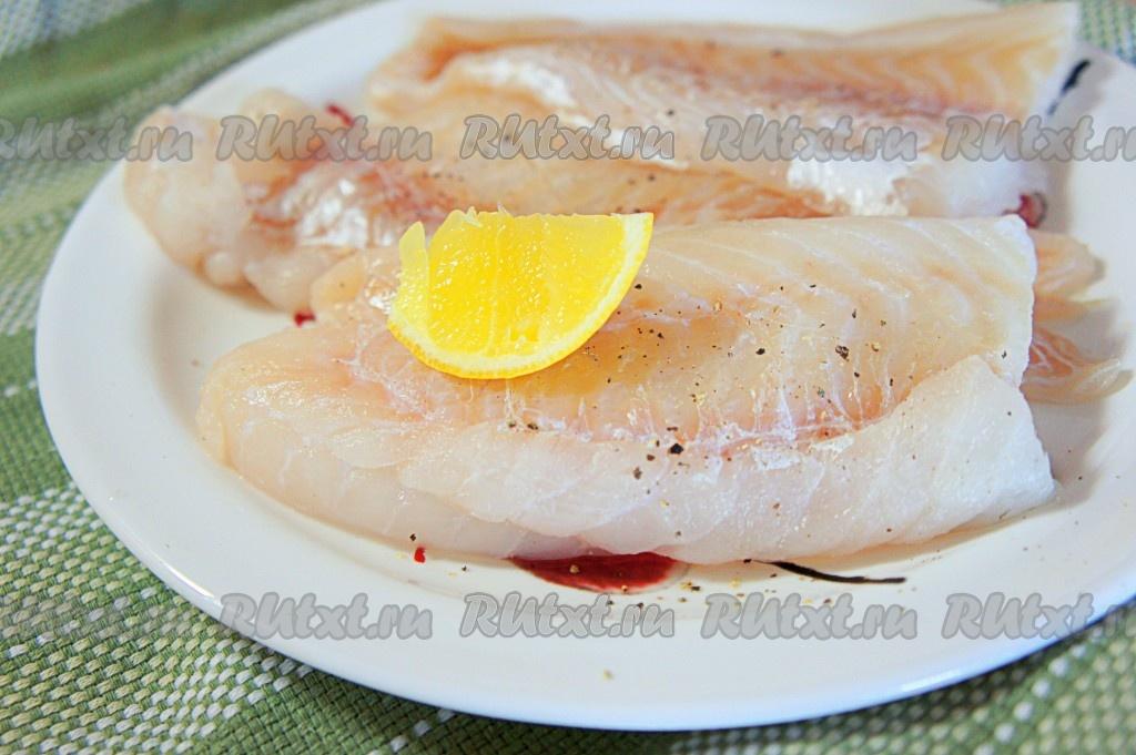 как приготовить филе трески с морепродуктами