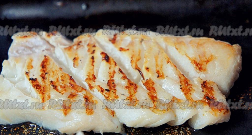 филе трески на сковороде рецепты с фото