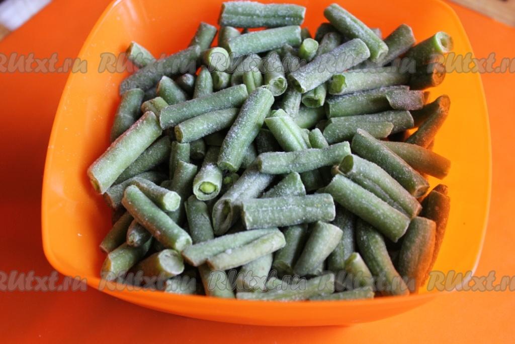 Стручковая фасоль рецепт с пошагово в