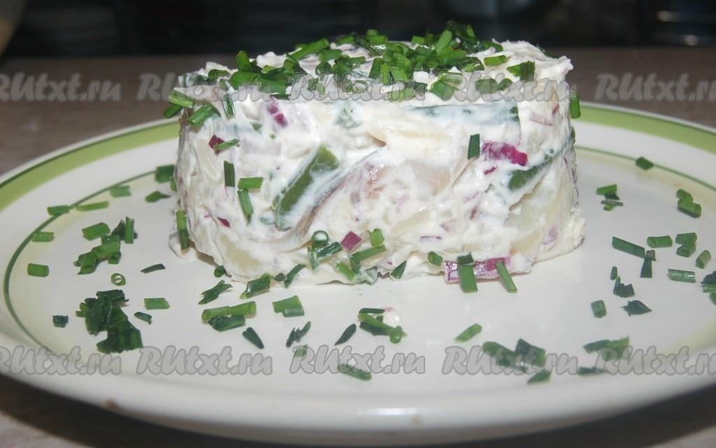 Рецепты салата из соленой сельди